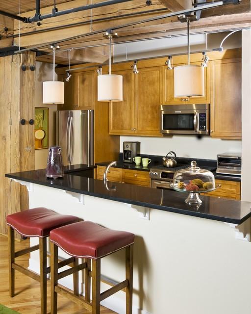 Urban Loft Kitchen Eclectic Kitchen Chicago By