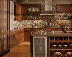 Urban Loft Living Kitchen by Dura Supreme Cabinetry contemporary kitchen