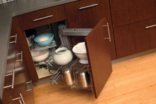 Storage Solutions For Corner Cabinets