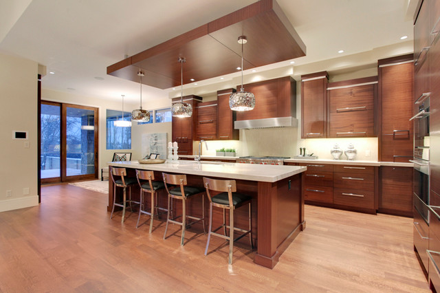 Urban Modern 1 Modern Kitchen Calgary By Dean Thomas Design Group