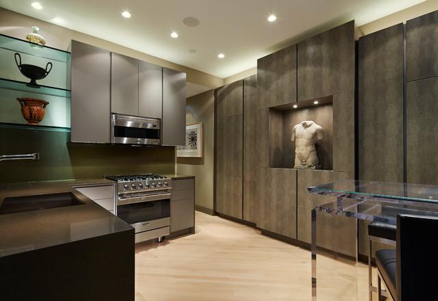 Urban Oasis Contemporary Kitchen Chicago By John Robert Wiltgen Design Inc