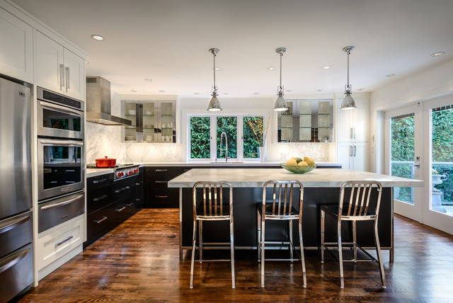 Urban Oasis Kitchen - Contemporary - Kitchen - Vancouver - by Jason Good Custom Cabinets Inc.