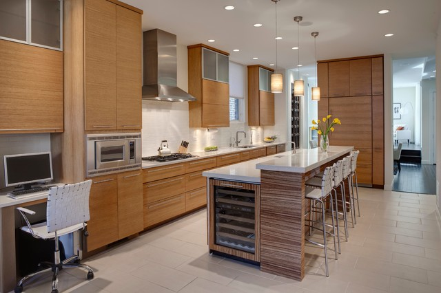 Urban Residence contemporary-kitchen