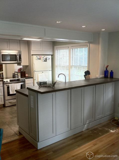 Urban Stone Kitchen Remodel Traditional Kitchen