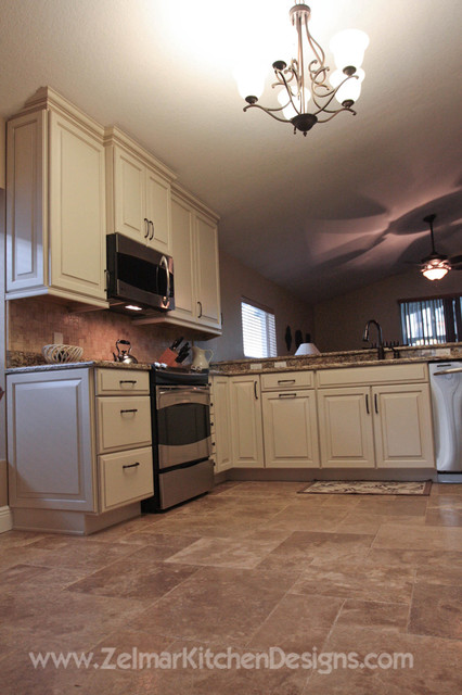 Uschold Waypoint Zelmar Kitchen Remodel Traditional Kitchen Orlando By Zelmar Kitchen