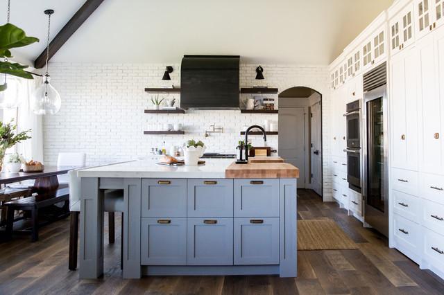 Utah Kitchen Remodel Farmhouse Kitchen Salt Lake City By House Of Jade Interiors