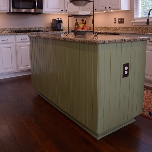 Utsa Neighborhood Kitchen Cabinet Makeover Traditional