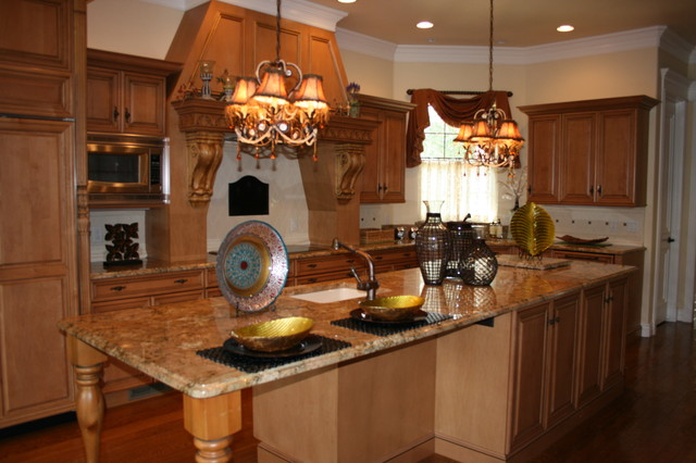 Vacant Home Staging -This Staged Space! Inc. traditional-kitchen