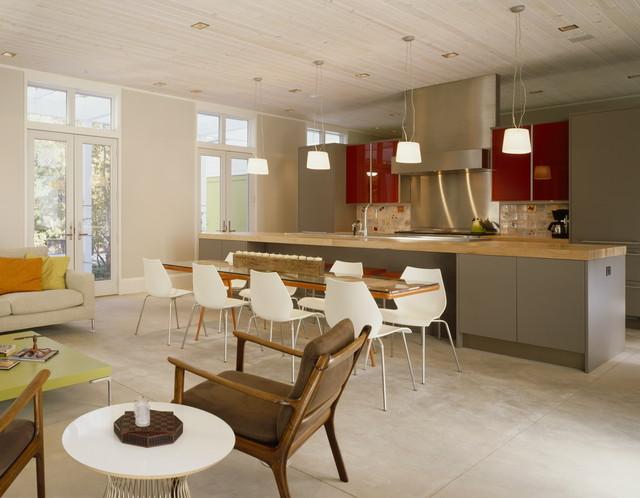 Vacation home kitchen r tro cuisine chicago par - La residence kitchel par boora architects ...