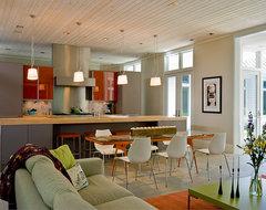 Vacation home, kitchen contemporary-kitchen