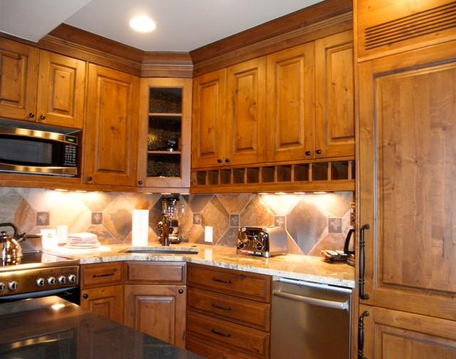 Vail Colorado One Bedroom Condo Remodel Sleeps 4 Rustic Kitchen By Interior Ideas And