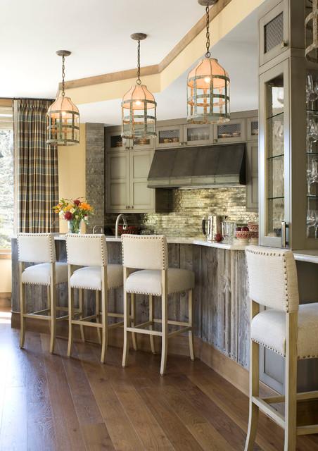 Vail Mountain Bachelor Condo Contemporary Kitchen Denver By Bardes Interiors