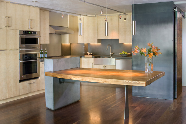 Vail Townhome Renovation contemporary-kitchen