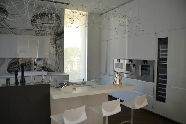 Valcucine Artematica Vitrum project - Moderno - Cucina - Altro - di ...