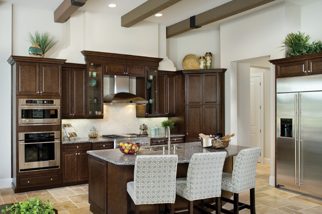 Valencia 1180 - Mediterranean - Kitchen - tampa - by Arthur Rutenberg Homes