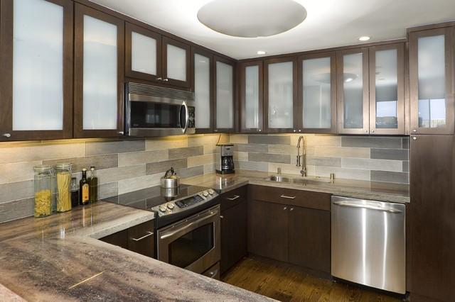 Vallejo Street contemporary-kitchen