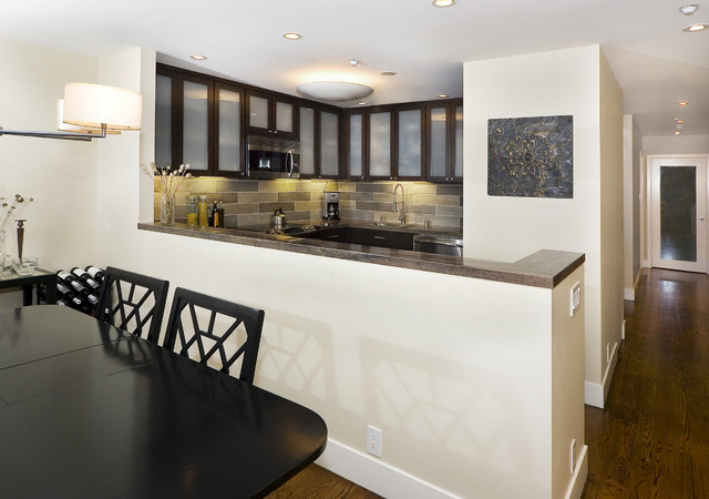 Vallejo Street contemporary kitchen