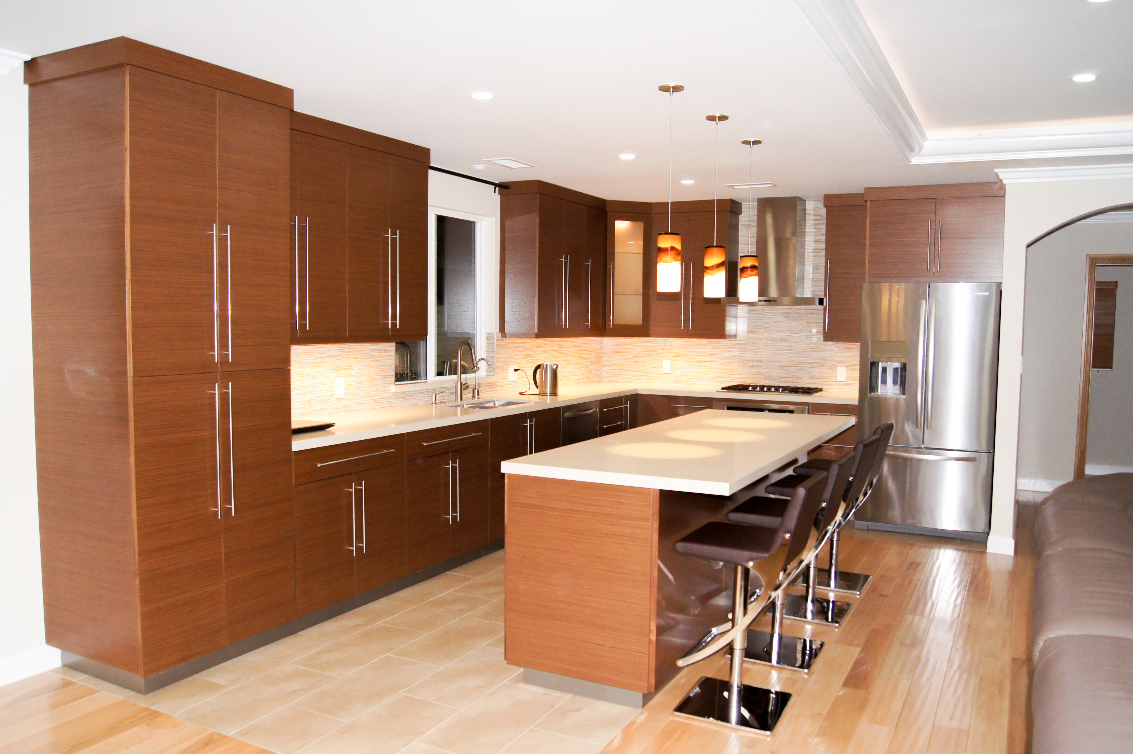 Valley Glen Open Kitchen