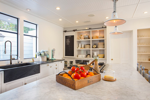 Barn doors aren't only for the stable — just ask these stunning kitchen spaces