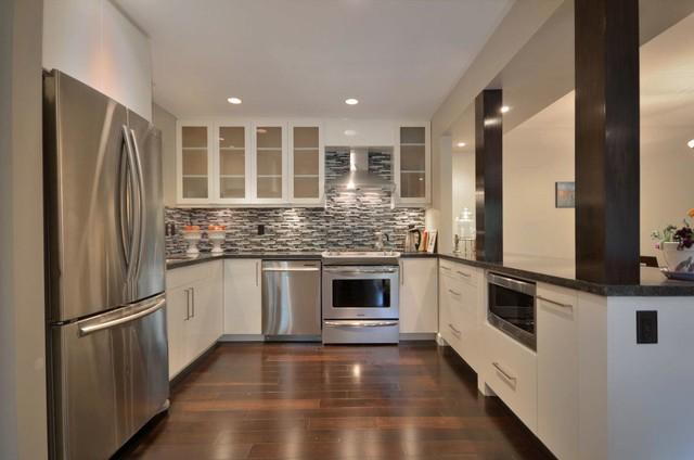 Vancouver Apartment contemporary-kitchen