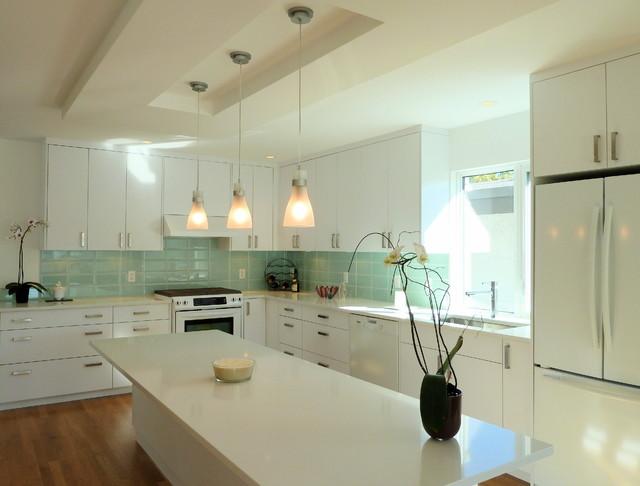 Modern Kitchen Renovations Part - 15: Vancouver Special Renovation Modern-kitchen