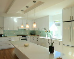 Vancouver Special Renovation modern-kitchen