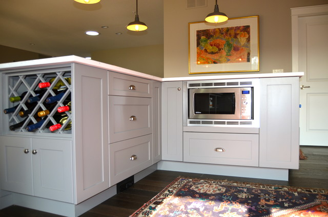 Rack traditional kitchen other metro by kekuli bay cabinetry