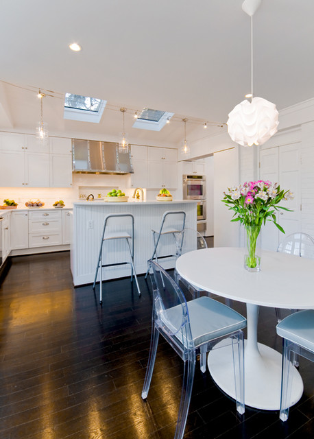 Various Ark Contracting projects contemporary-kitchen