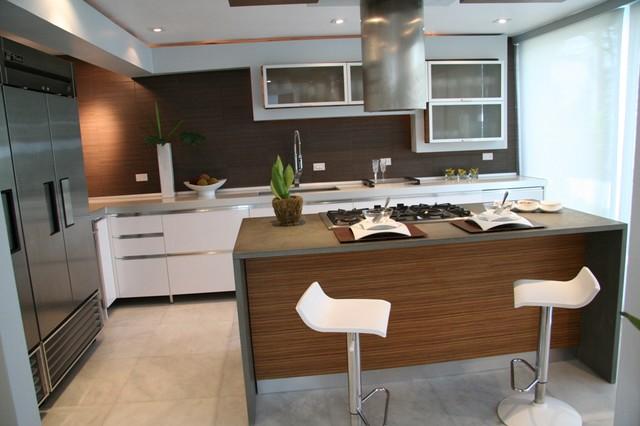 Various modern-kitchen