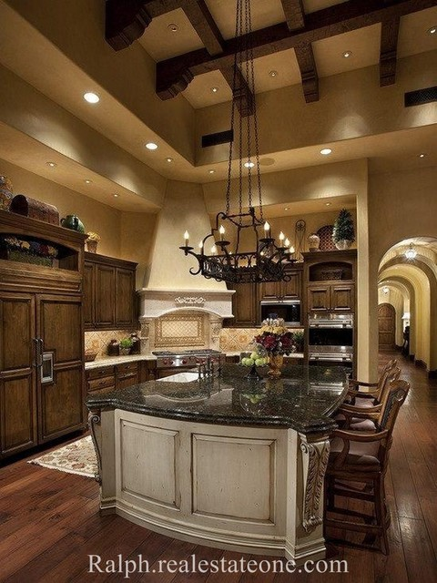 Various Homes traditional-kitchen