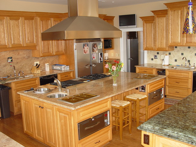 Various Projects traditional-kitchen