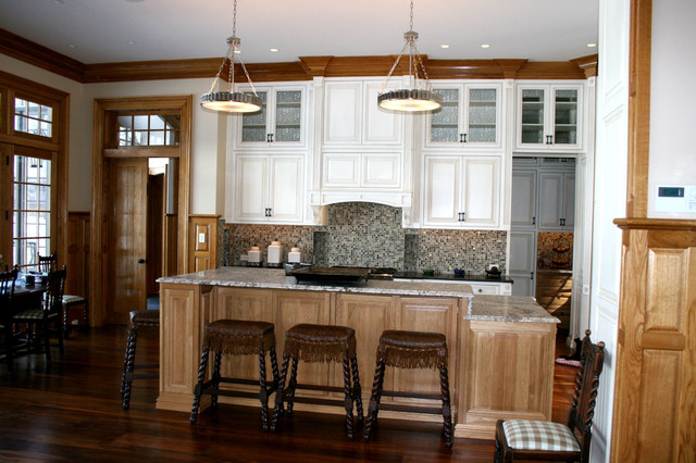 Various projects completed traditional-kitchen