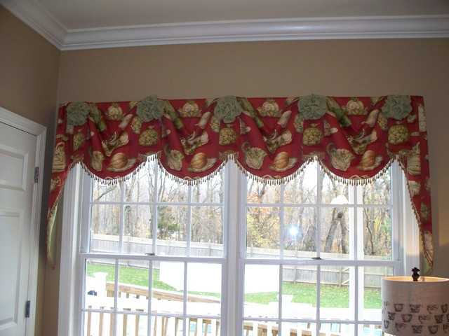 Various Window Treatment Projects traditional-kitchen
