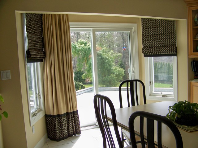 Various Window Treatment Projects Contemporary Kitchen