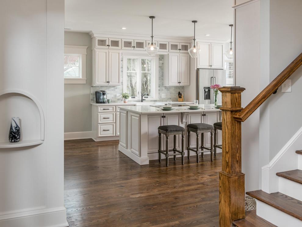 Vaulx Ln Bungalow - Craftsman - Kitchen - Nashville - by ...