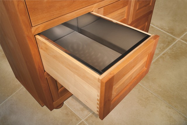 Vegetable Drawer - Traditional - Kitchen - cleveland - by Schrocks of Walnut Creek