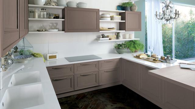 Coral Gables  Midcentury  Kitchen  miami  by Veneta Cucine Coral