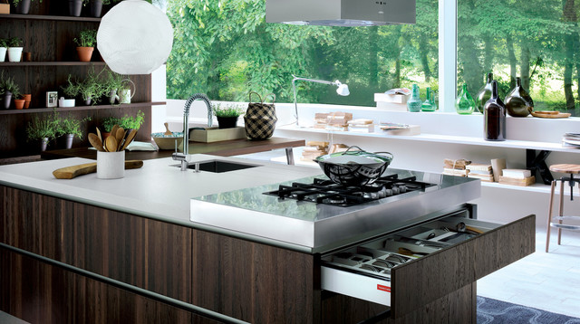 Coral Gables  Modern  Kitchen  miami  by Veneta Cucine Coral