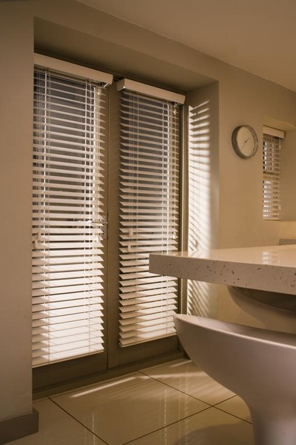 Venetian Blinds Contemporary Kitchen Brisbane By