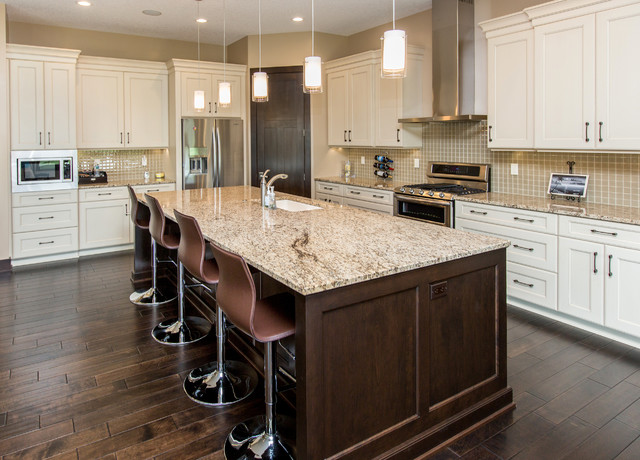 Venetian Gold Kitchen  Traditional  Kitchen  other metro  by