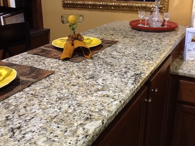 Perfect Venetian Ice Granite Countertops Kitchen