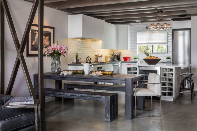 Venice Beach Contemporary Kitchen Los Angeles By