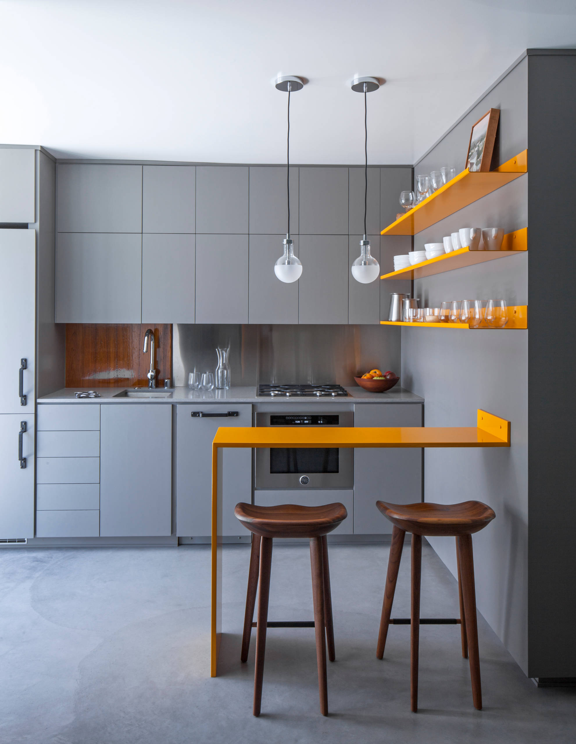 75 Beautiful Small Single Wall Kitchen Pictures Ideas January 2021 Houzz