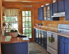 Vermont Cottage eclectic kitchen