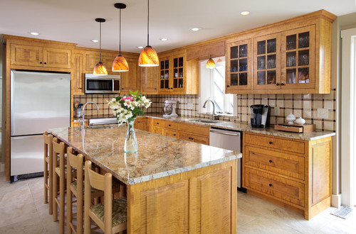 What is the room demensions of just the kitchen area - Houzz