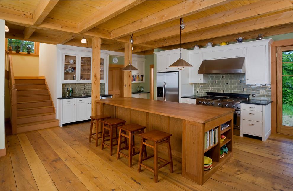 Vermont Hilltop Home - Traditional - Kitchen - Burlington ...