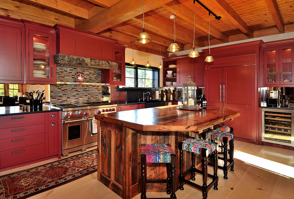 Vermont Home 2012 - Rustic - Kitchen - New York - by ...