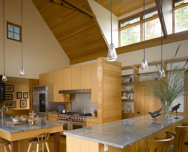 Vermont Lake House Rustic Kitchen Burlington By Truexcullins Architecture Interior Design