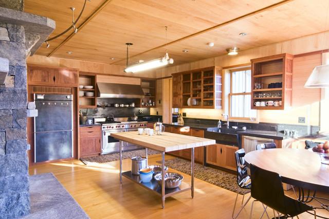 Vermont Organic Farm contemporary-kitchen