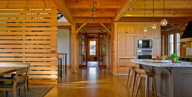 Vermont Ski Retreat Rustic Kitchen Burlington By Truexcullins Architecture Interior Design